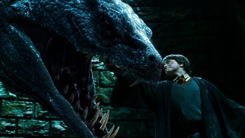 A still from Harry Potter and teh Chamber of Secrets